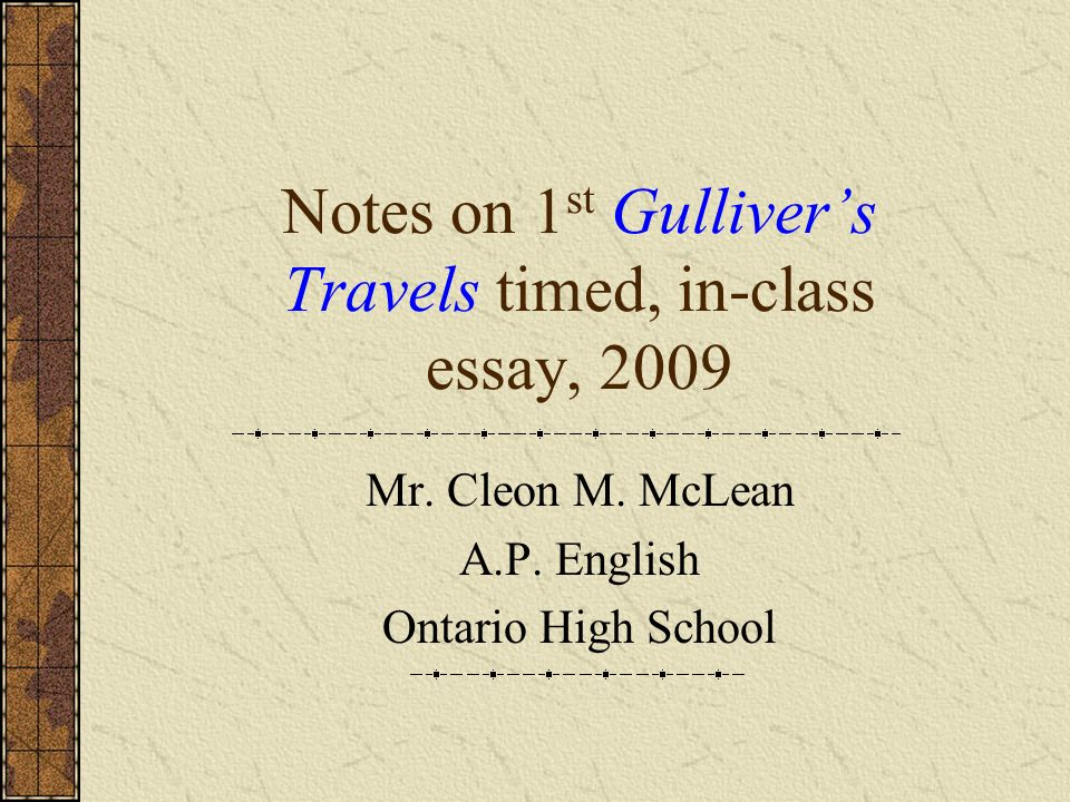 satire in gulliver s travels essay example In his social commentary gulliver's travels, jonathan swift uses biting satire to relentlessly criticize politics, society, and the human race in each of in gulliver's first journey to lilliput, the land of the six-inch tall humans, swift describes their flawed society and misplaced pride, satirically comparing.