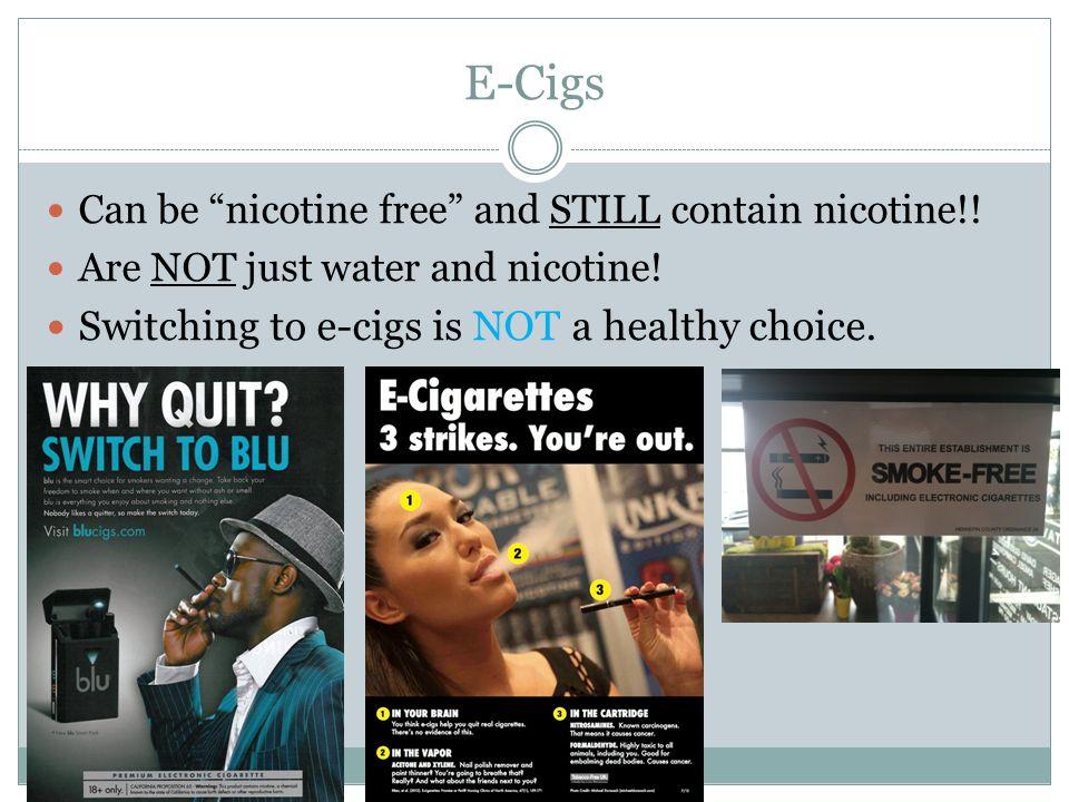 E cigarettes are deadly