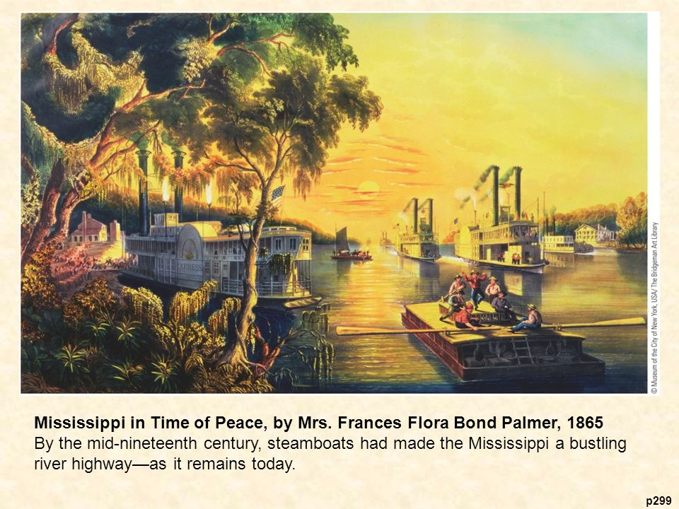 p299 Mississippi in Time of Peace, by Mrs.