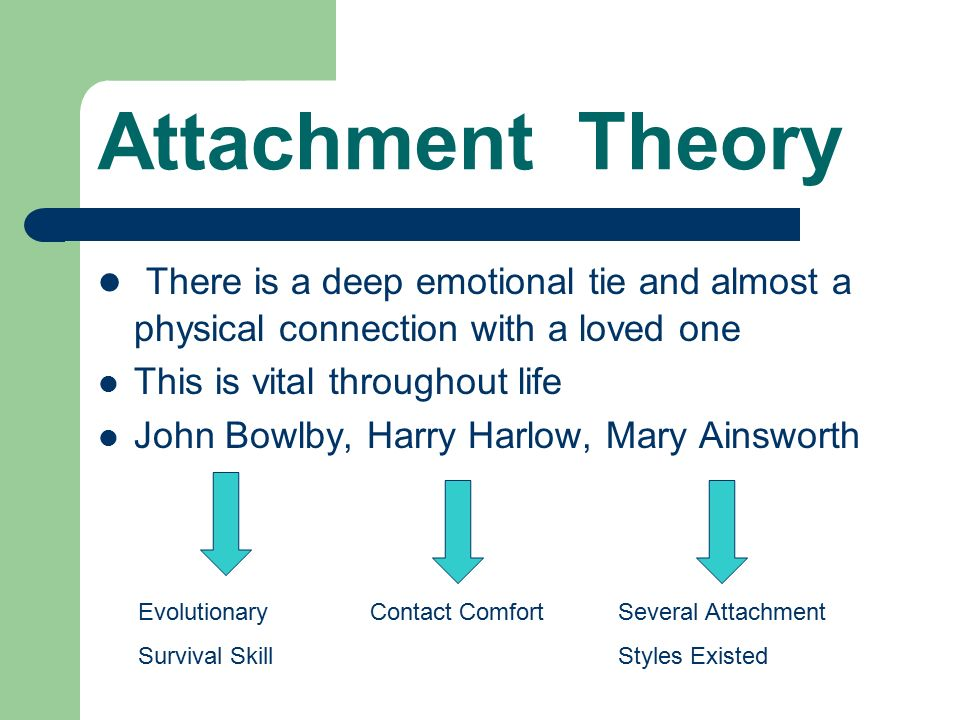 attachment theory 4