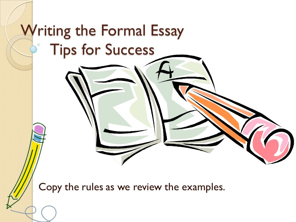 rules to write an essay Short essay writing help: 6 rules to follow  it's very common for teachers to assign short essays to their students usually these are comprised of only 5 paragraphs.