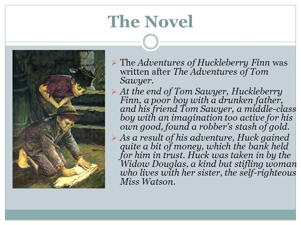 weltanschauung of mark twain in the novel adventures of huckleberry finn