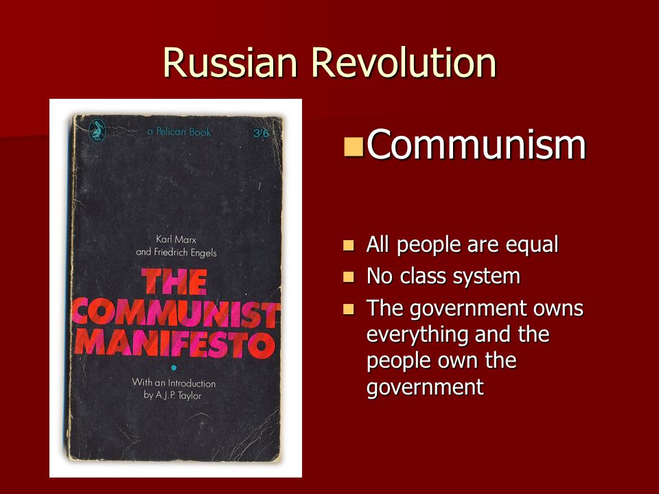 Can you explain/ compare benjamin and the people in Russia during Russian Revolution?