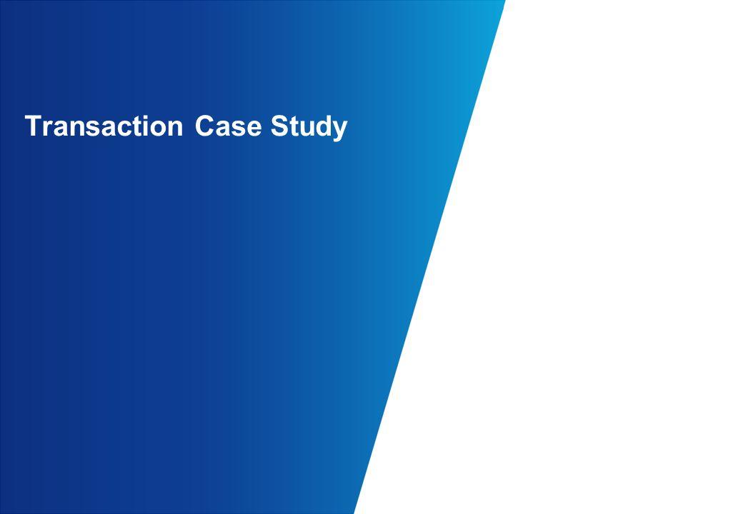 Transaction Case Study