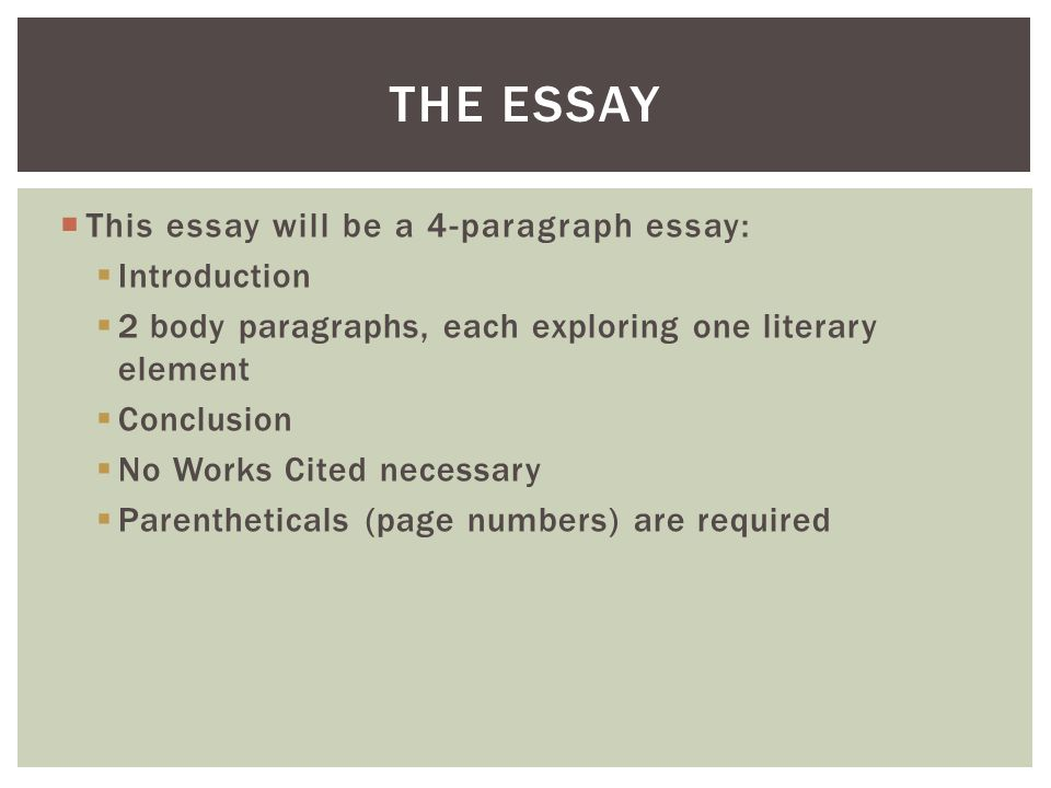 How to write a 5 paragraph compare and - contrast essay