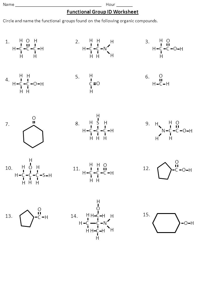 Worksheets Functional Group Practice Worksheet functional groups worksheet photos pigmu organic versaldobip