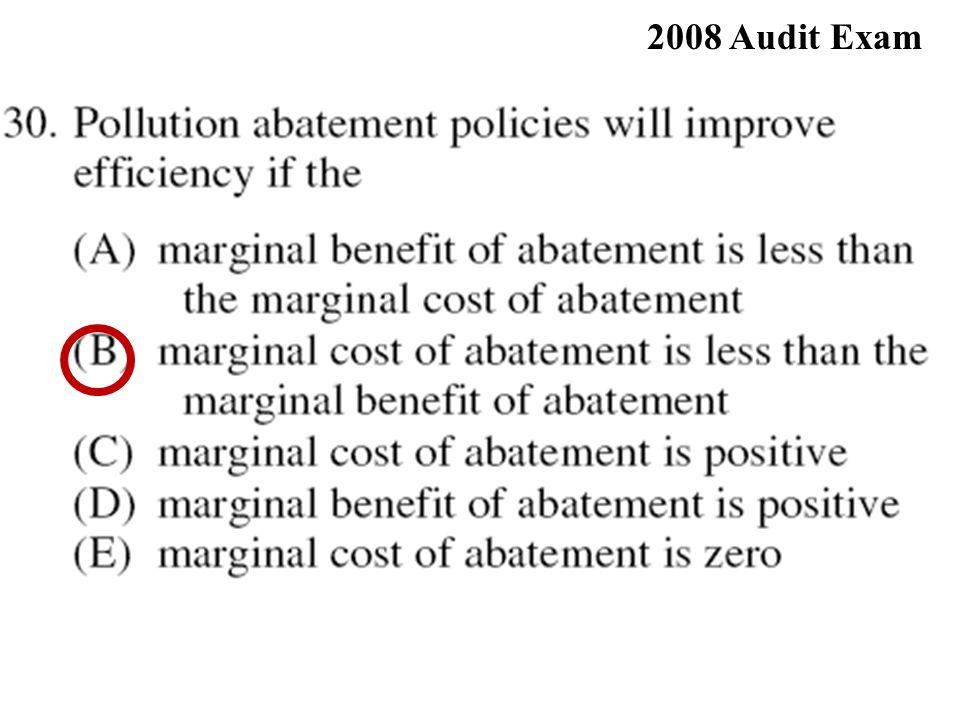 2008 Audit Exam
