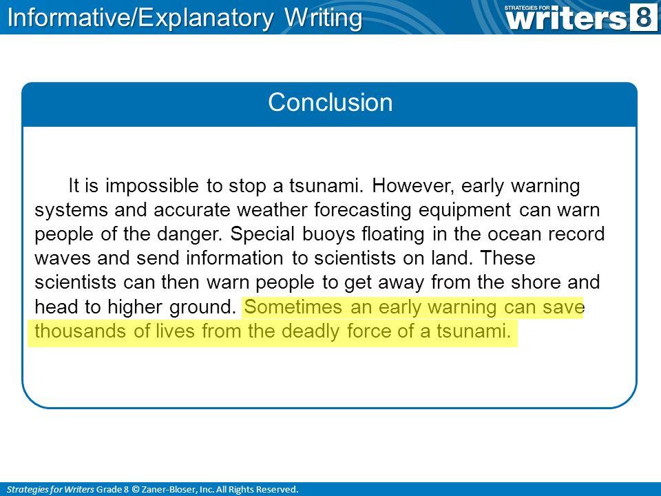 tsunami description essay