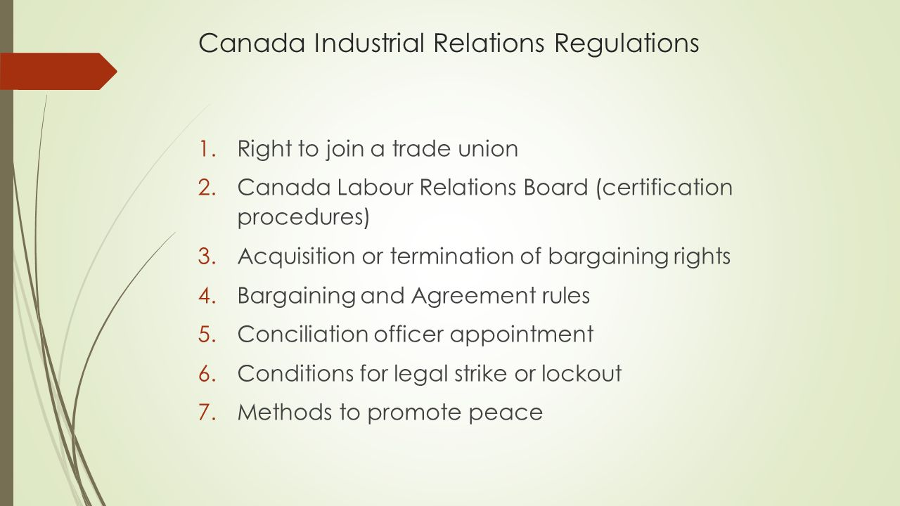 Lw1210 labour law in canada stage 1 unions in canada a 16 canada industrial xflitez Choice Image