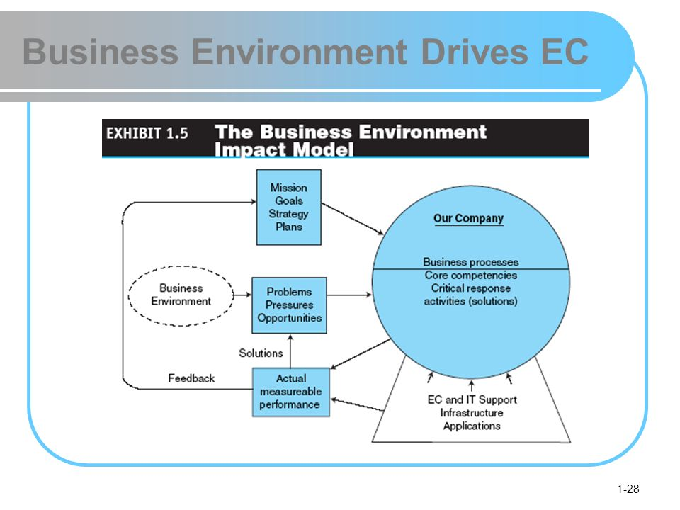 1-28 Business Environment Drives EC