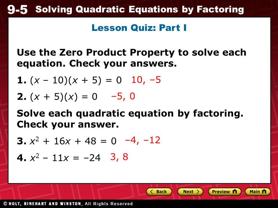 Algebra 1 worksheets quadratic equations