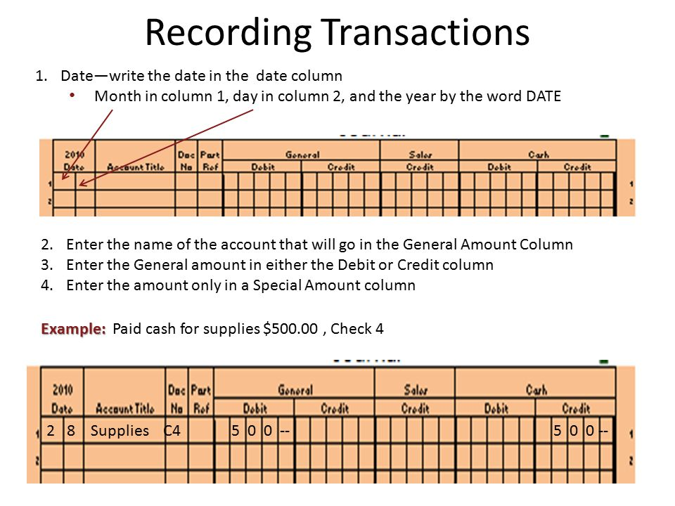 Chapter 5 Journalizing Transactions. Journal Journal —A form for ...