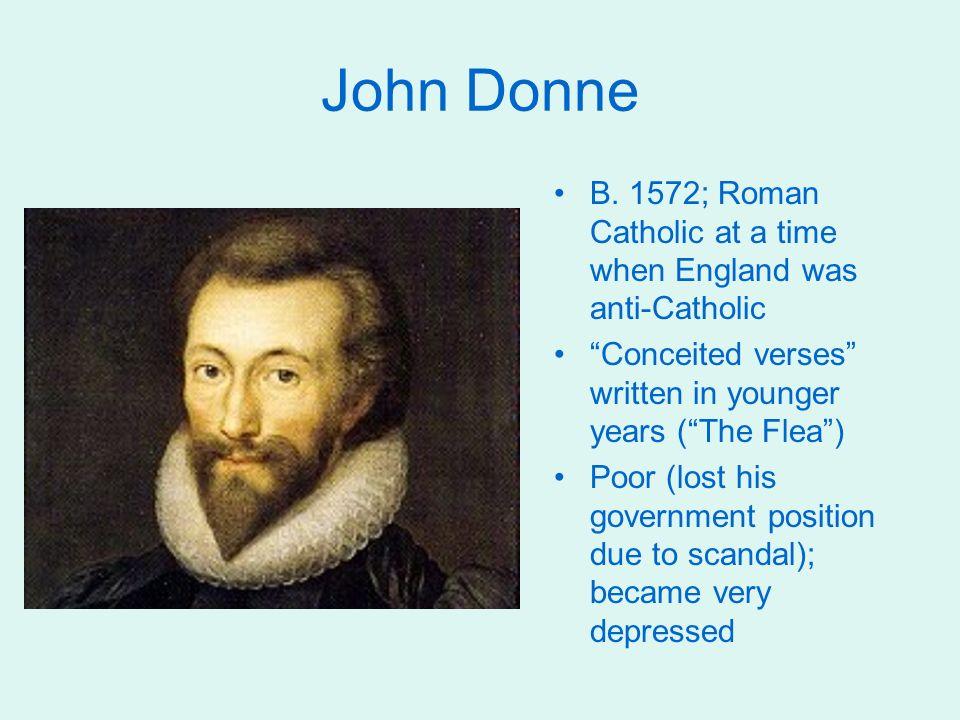 Download essay on john donnes dramatic self presentation