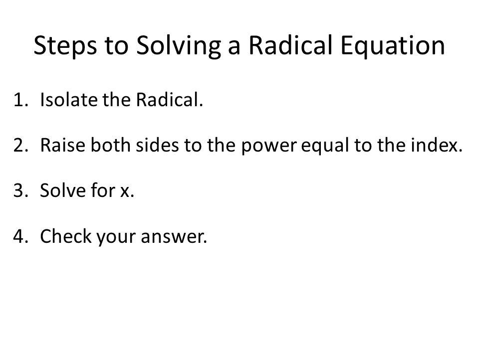 Radical Equation Worksheet Worksheets For School - Toribeedesign
