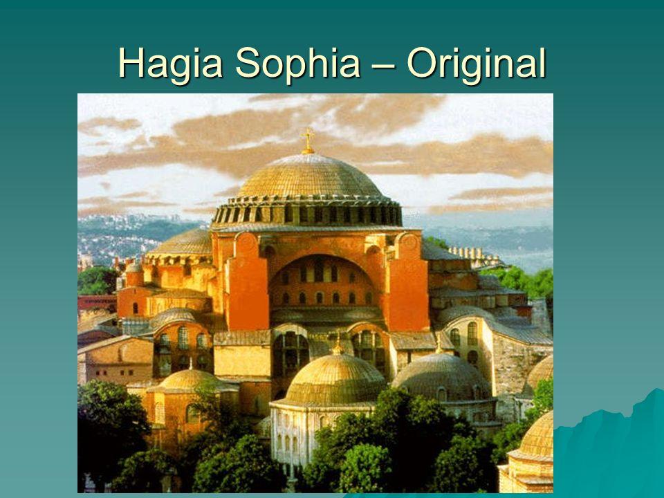 Hagia Sophia – Original