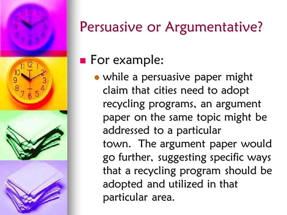 is argumentative and persuasive essay the same Argumentative or persuasive essay the same prime and composite numbers homework help 9 أبريل، 2018 0 الاخبار.