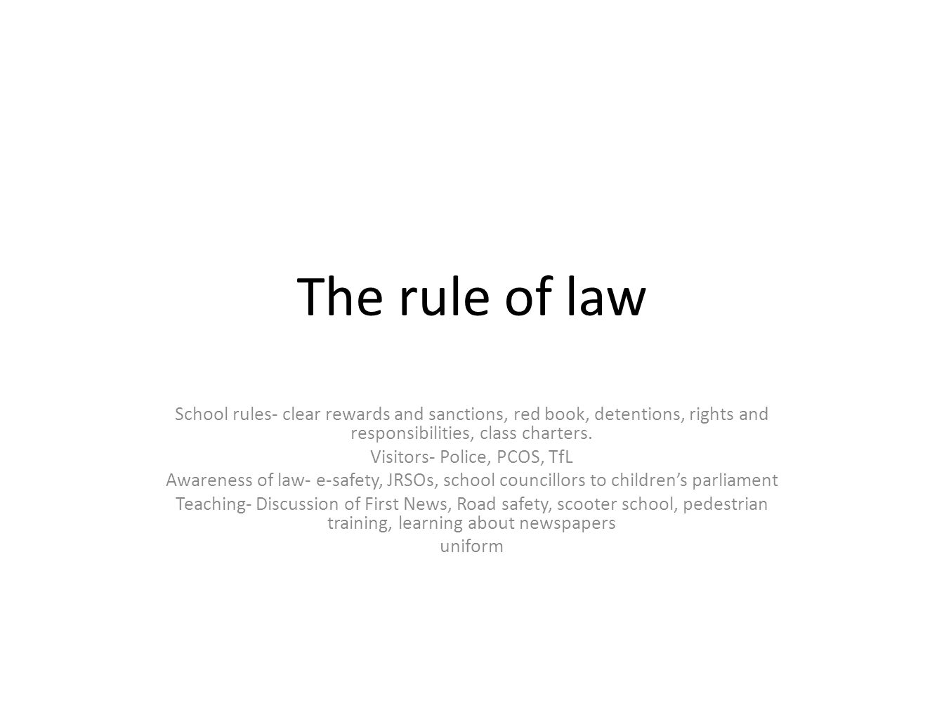 the rule of law and the 3 postulate The sociological jurisprudence of roscoe pound (part i) that every rule of law joseph kohler's great postulate was that law is relative to the.