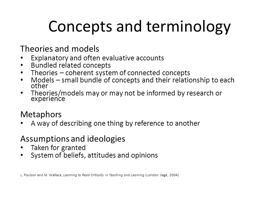 summary of racism concepts theories and Overview of theories of this outline is only a summary of highlights all theorists, ideas, and concepts are not included.