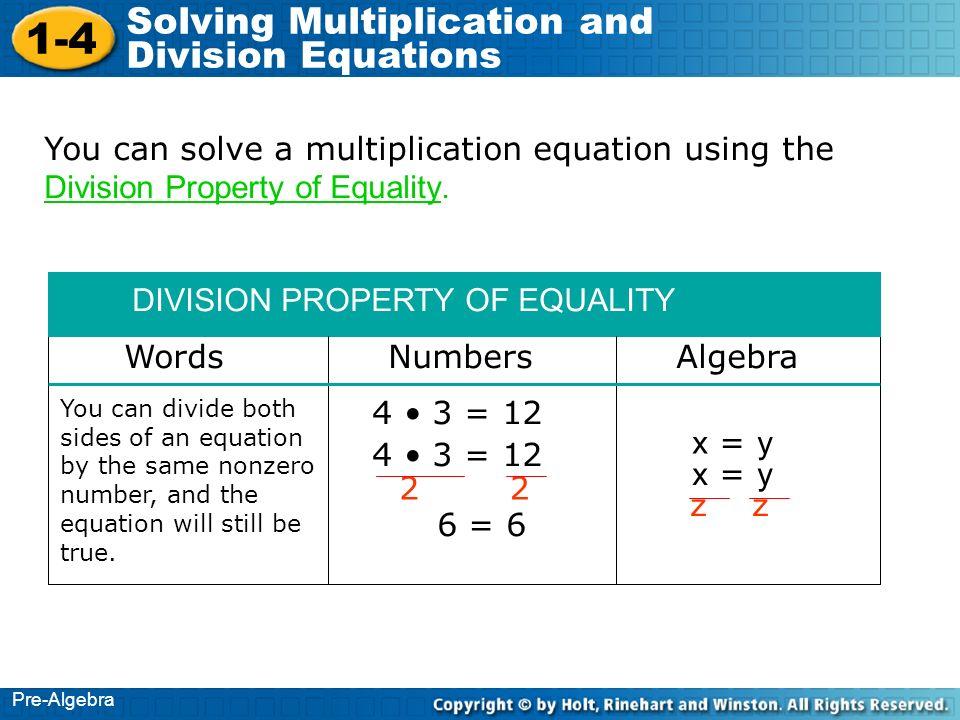 Pre Algebra Lesson 4 8 Exponents &- Division - YouTube