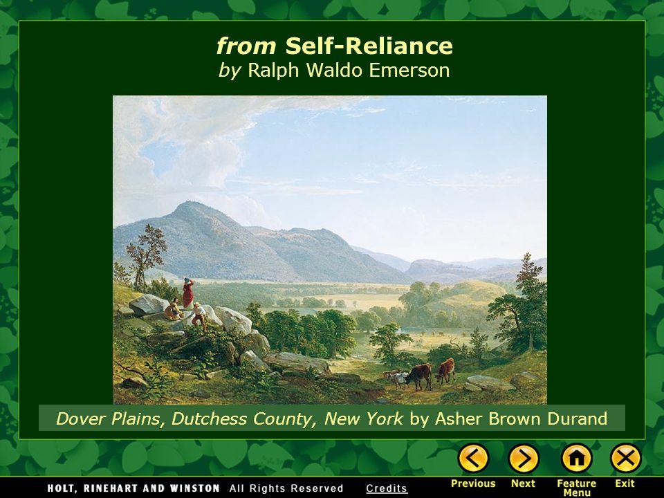 Emerson s  Self Reliance    A Close Reading Lesson Plan