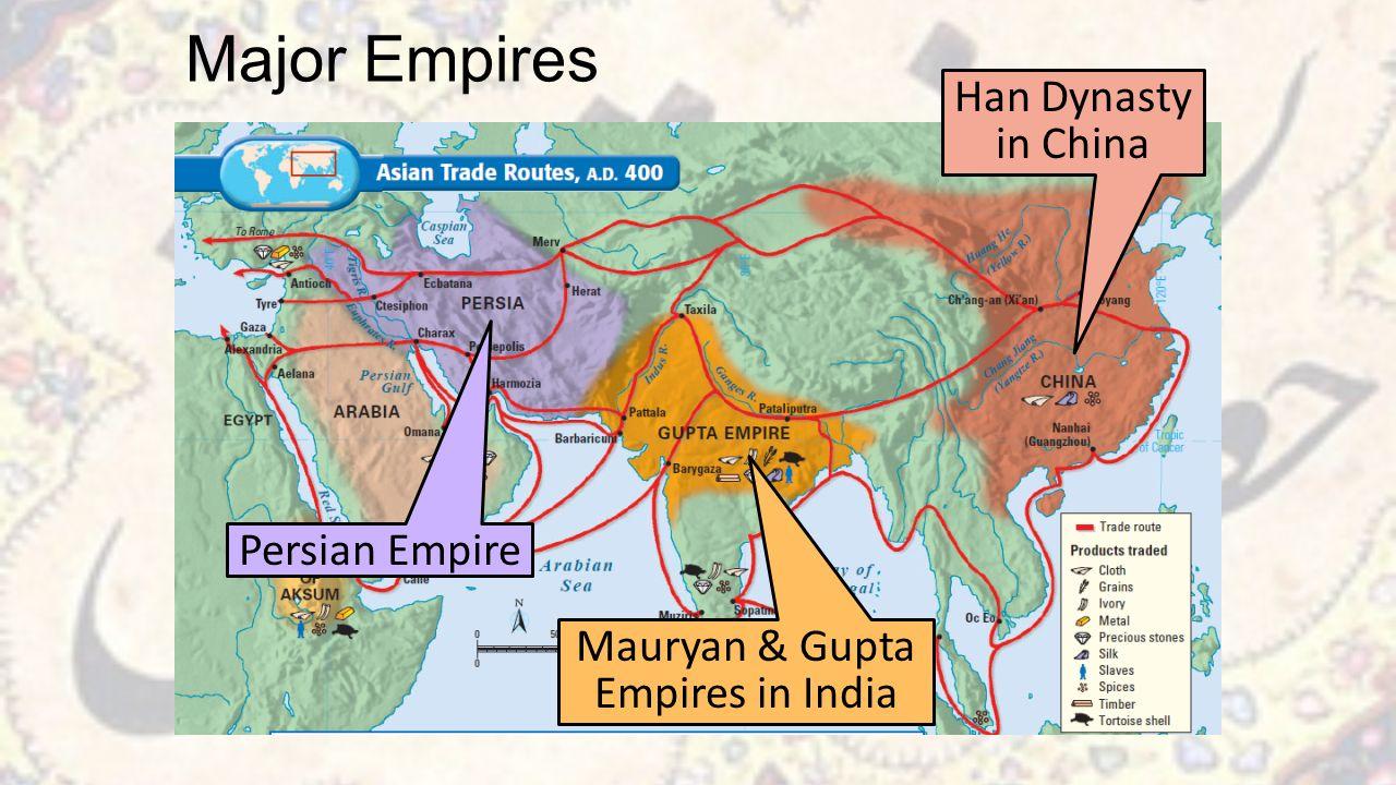 han dynasty and gupta dynasty