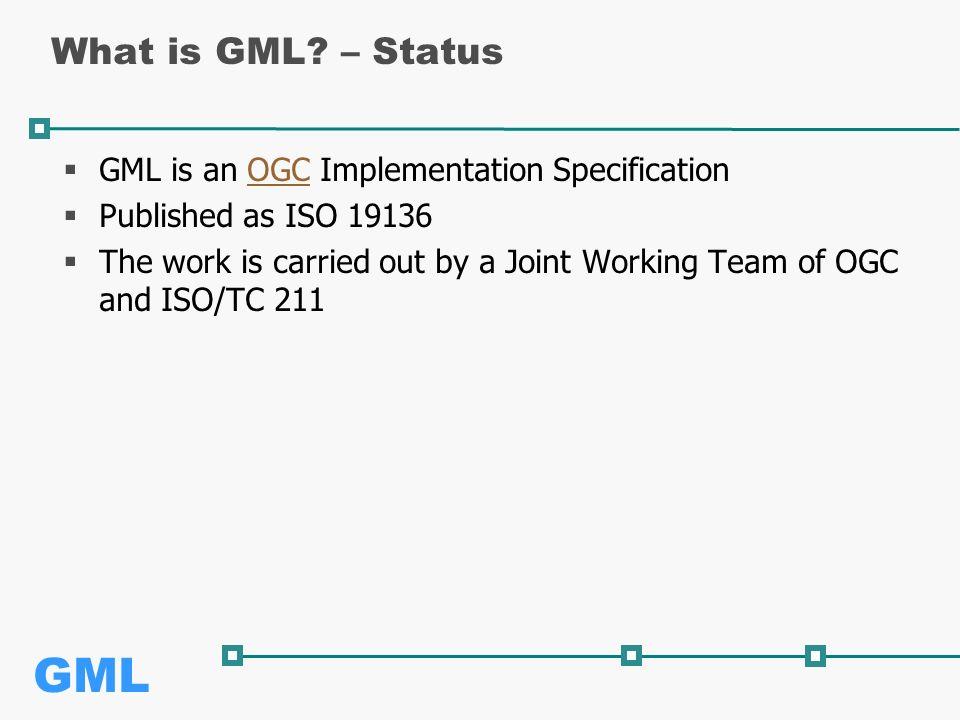 GML What is GML.