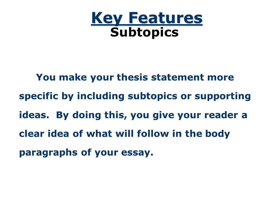 Example Of An Essay Proposal  An  American Dream Essay Thesis also Writing Essay Papers The Thesis Statement A Road Map For Your Essay Essay Introduction  Sample Narrative Essay High School