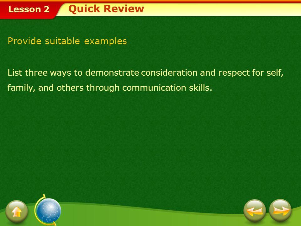 Lesson 2 A.