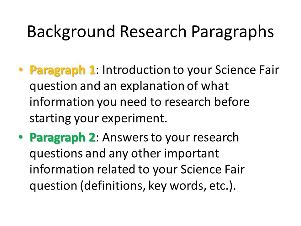 research introduction paragraph