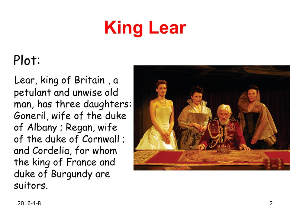 character analysis king lear in the play king lear by william shakespeare Watch our synopsis film or read the story of shakespeare's king lear.