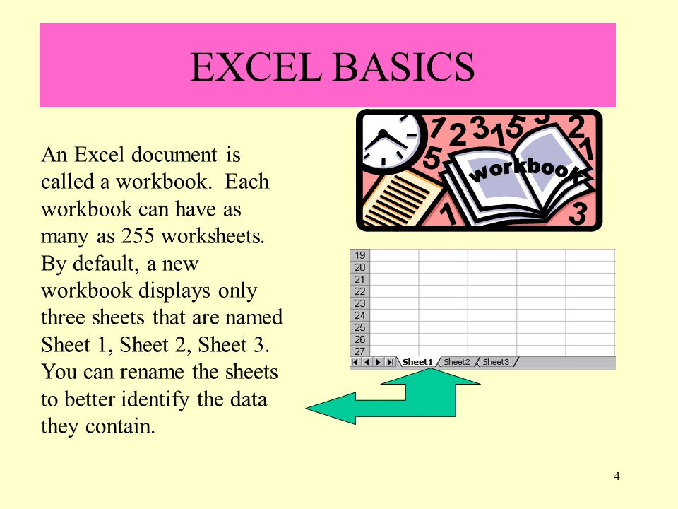 1 Welcome to Excel I MANAGE AND MANIPULATE INFORMATION (NUMBERS ...