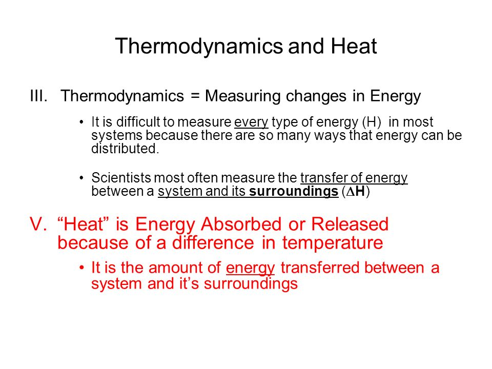 Thermodynamics Measuring Energy in Chemical and Physical Changes – Heat and Its Measurement Worksheet Answers
