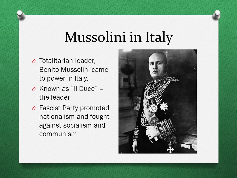 a biography of benito mussolini the leader of the italian national fascist party Benito mussolini was the leader of italy's national fascist party, ruling the country from 1922 to 1943 he began his political life as an editor for the socialist newspaper avanti he abandoned socialism and formed the fascist party after world war i.