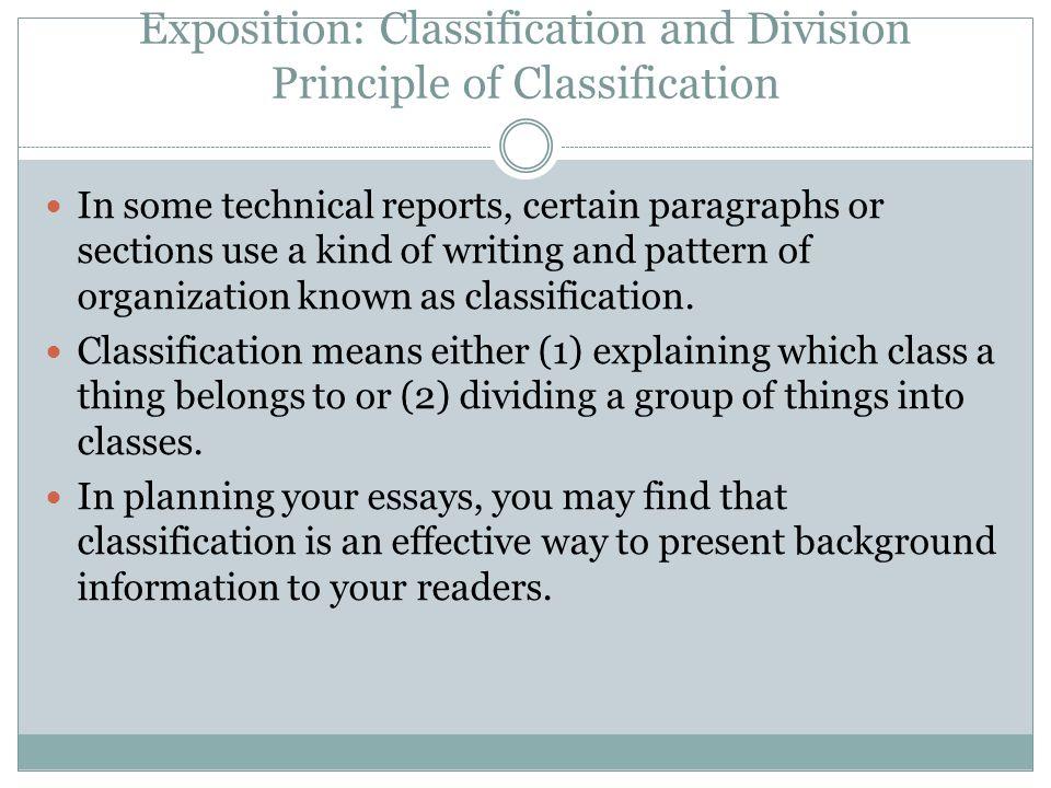 expositive essays