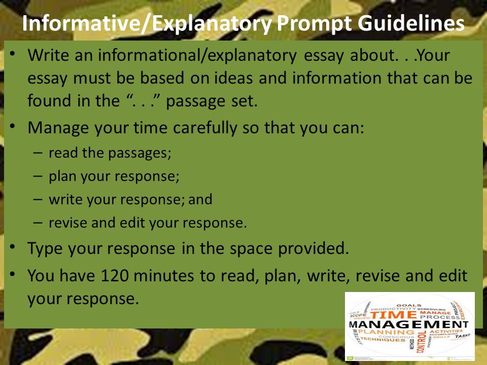 Personal example in argumentative essays ap lang