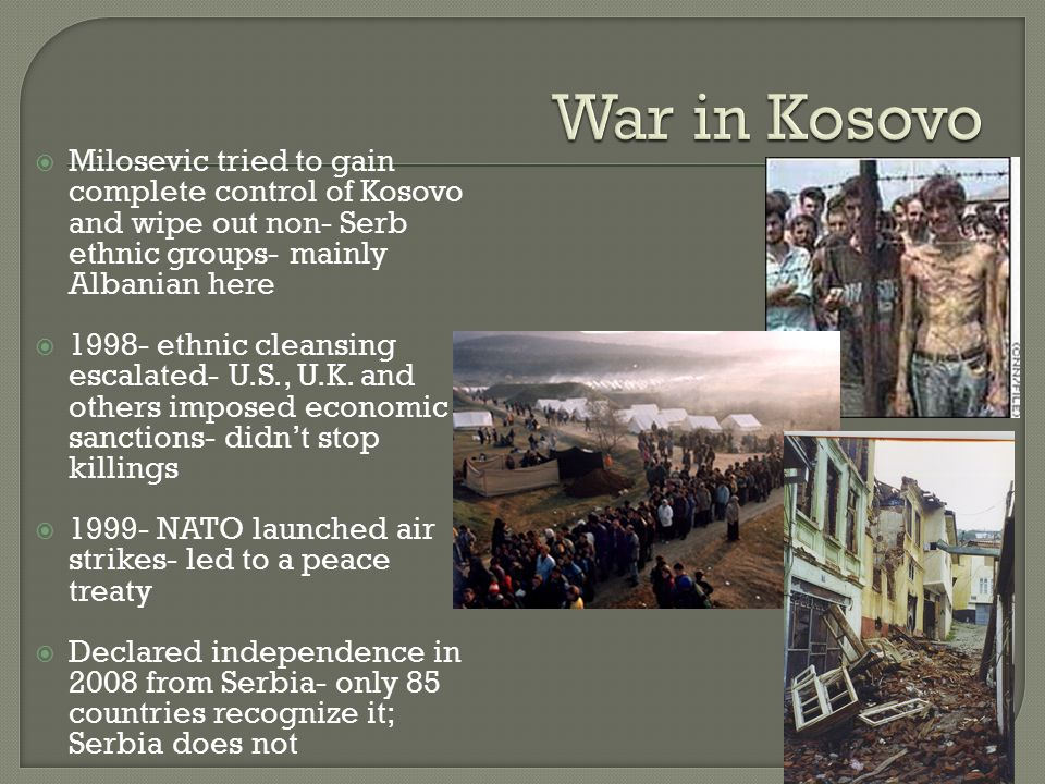 Image result for un air strikes during the kosovo crisis in 1999 newspaper articles