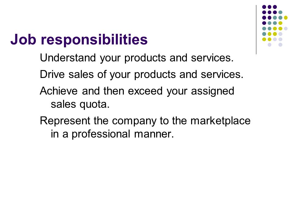 Naming a company's products and services?