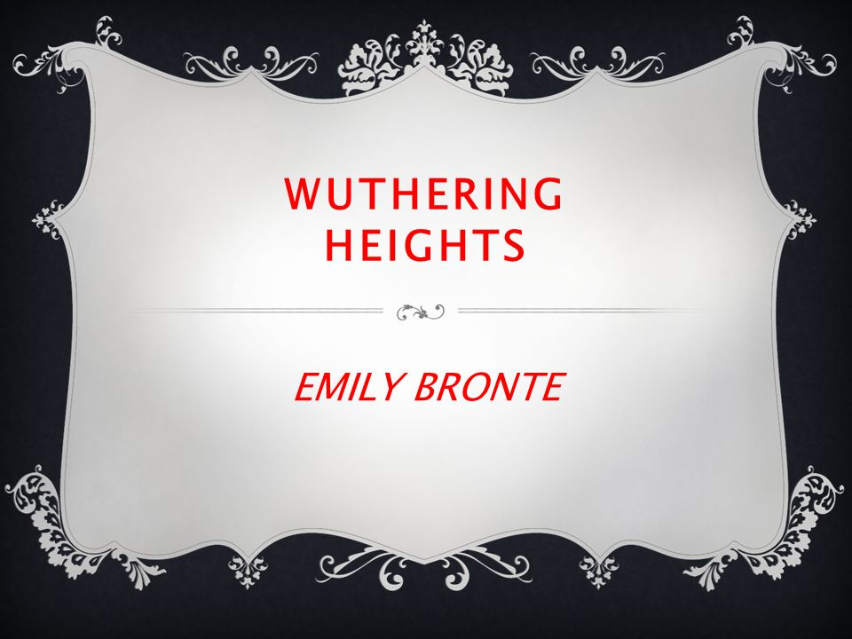 wuthering heights outline essays