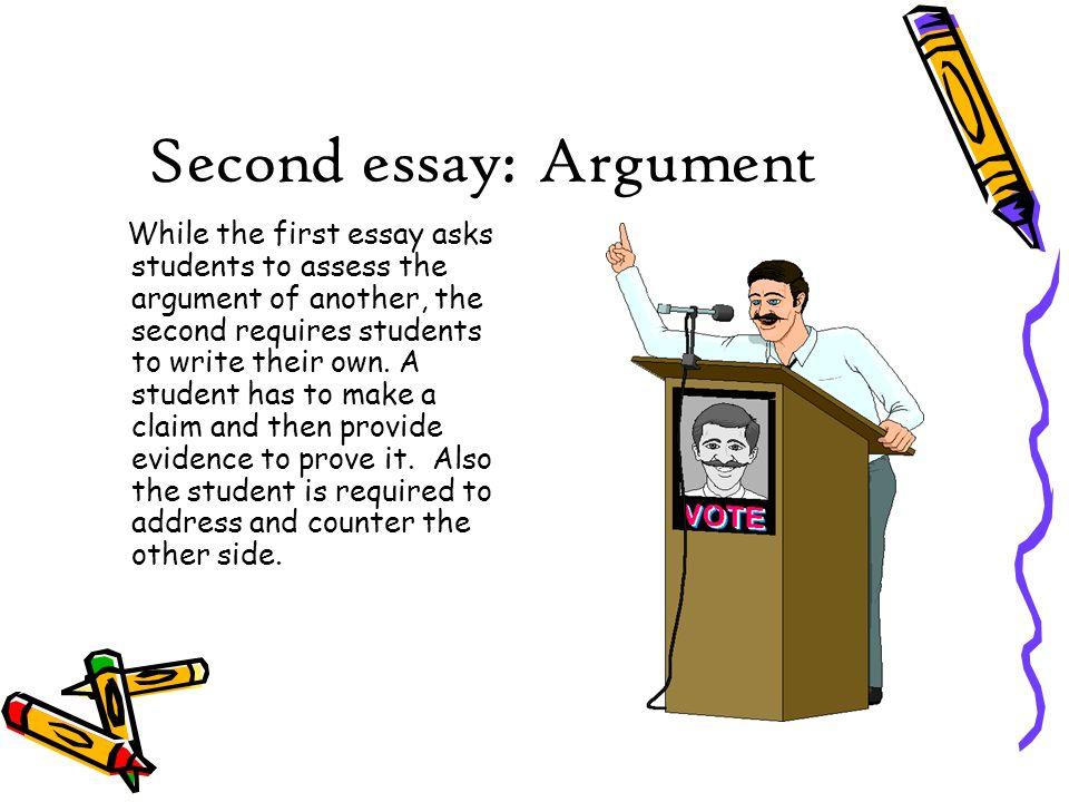 second essay