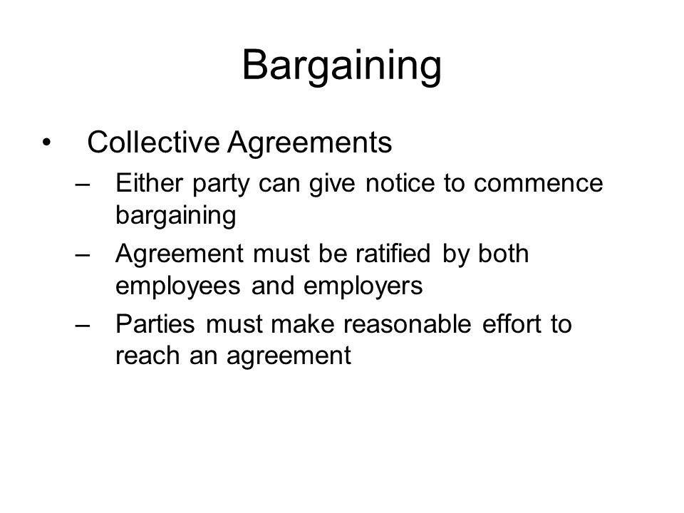 Collective Bargaining Agreements Essay Academic Writing Service