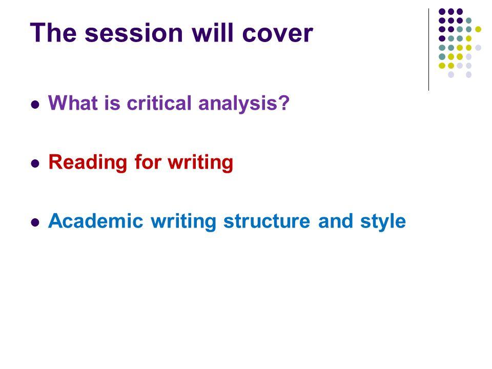 Critical Analysis Assignment