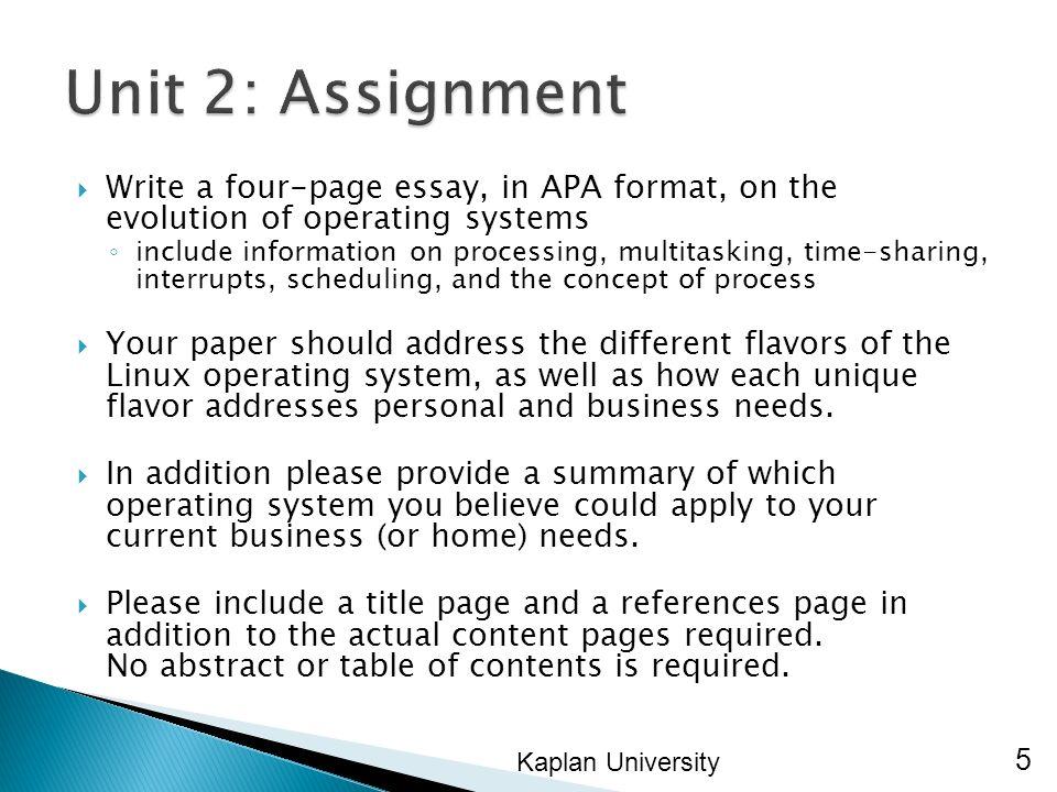 kaplan university address