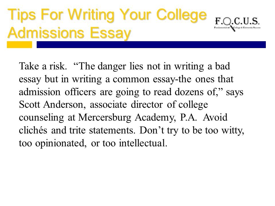 tips for writing a college application letter