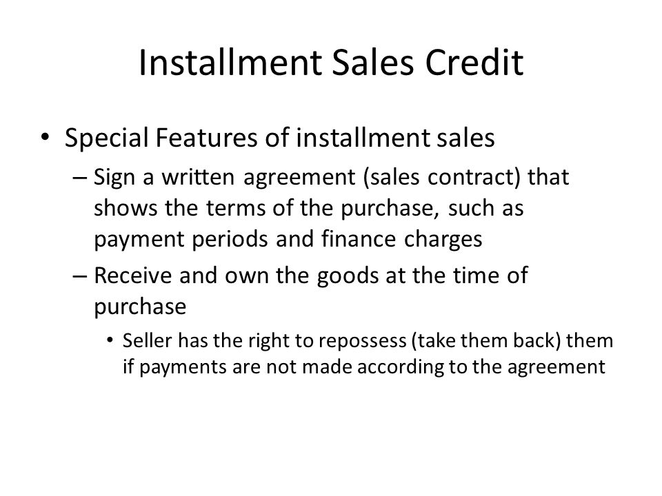 Introduction To Business Ch  The Uses Of Credit  Ppt Download