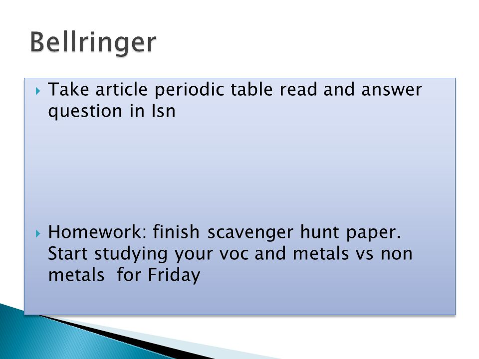 Take article periodic table read and answer question in isn take article periodic table read and answer question in isn homework finish scavenger urtaz Choice Image