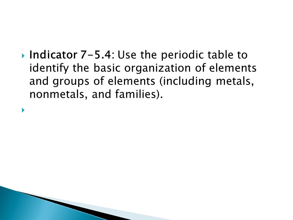 Take article periodic table read and answer question in isn indicator 7 54 use the periodic table to identify the basic organization of urtaz Choice Image