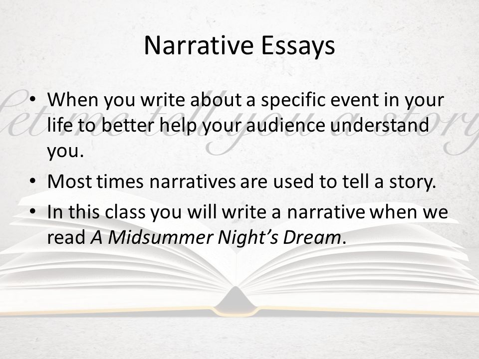 published narrative essays Writing a narrative essay is an essential talent for field research it presents your experience and allows audiences to draw their own conclusions.