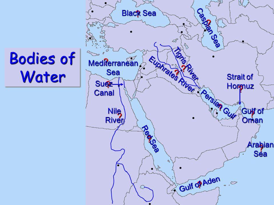 Middle East Map Mr Nolen Penncrest High School Media PA Mr