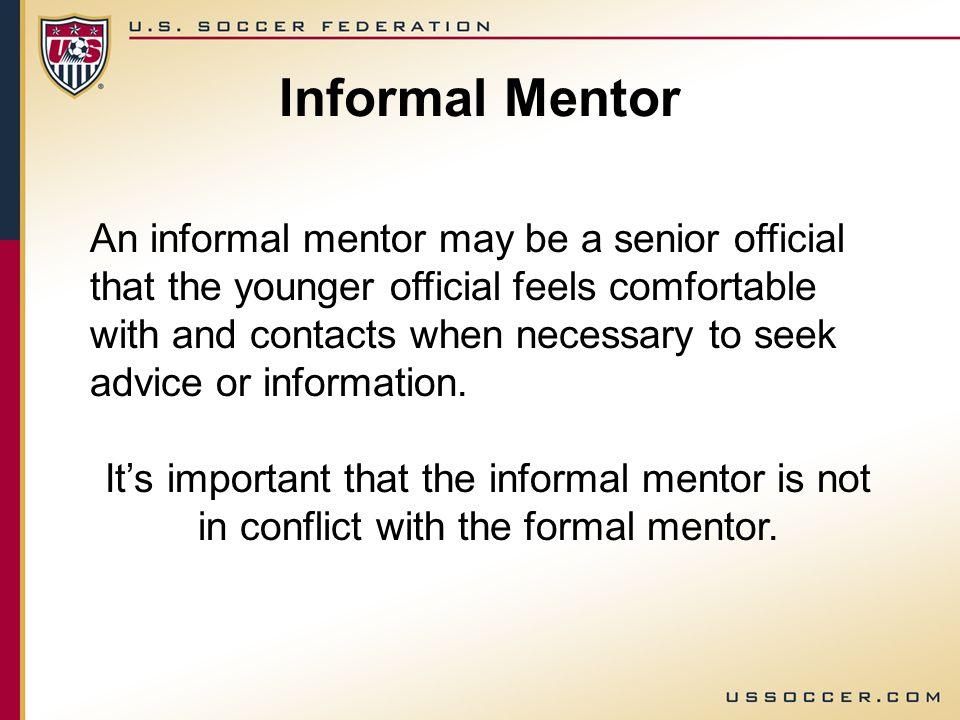 caterpillar shoes formal mentoring vs informal mentoring vs form