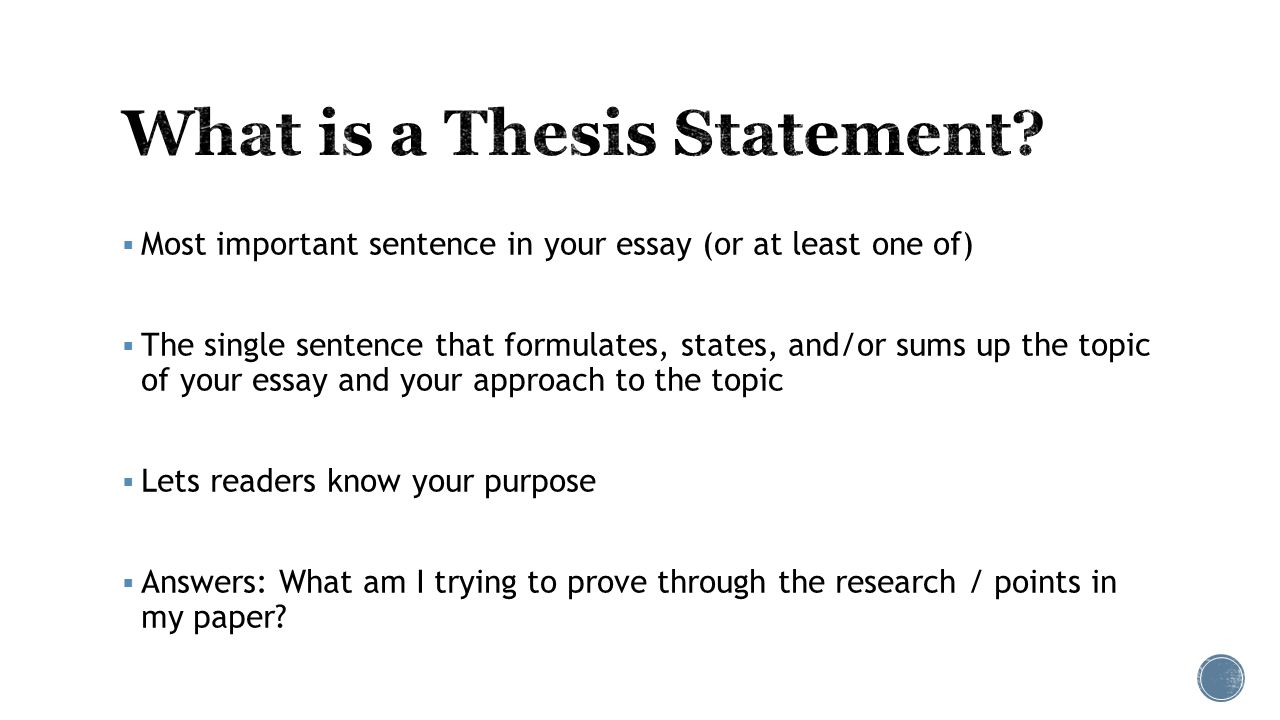 embedded assessment two  most important sentence in your essay 2  most important sentence in your essay
